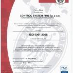 Certyfikat ISO aktualny wersja pl