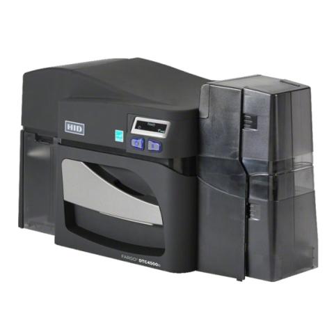Drukarka kart plastikowych Fargo DTC4500e - prawa strona