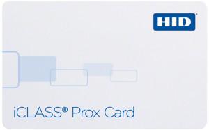 karty plastikowe HID iCLASSProx