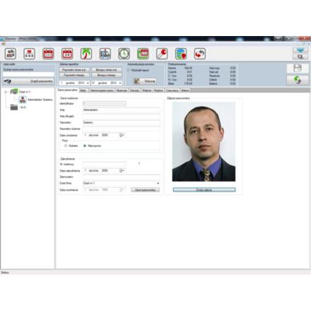 CHRONOS RCP rejestracja czasu pracy