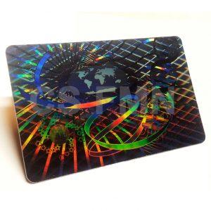 Zabezpieczenia kart plastikowych - Hologram HiSecure